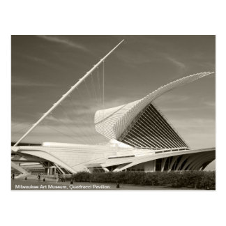 Milwaukee Art Museum, Quadracci pavilion Postcard