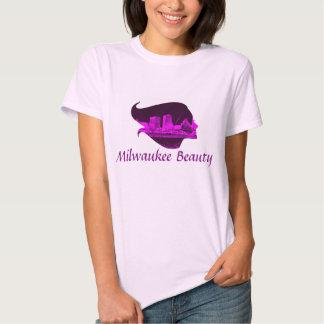 Milwaukee Beauty in Purple Tshirt