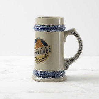 Milwaukee Beer Stein 18 Oz Beer Stein