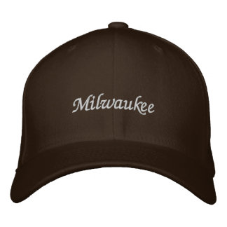 Milwaukee Embroidered Baseball Cap