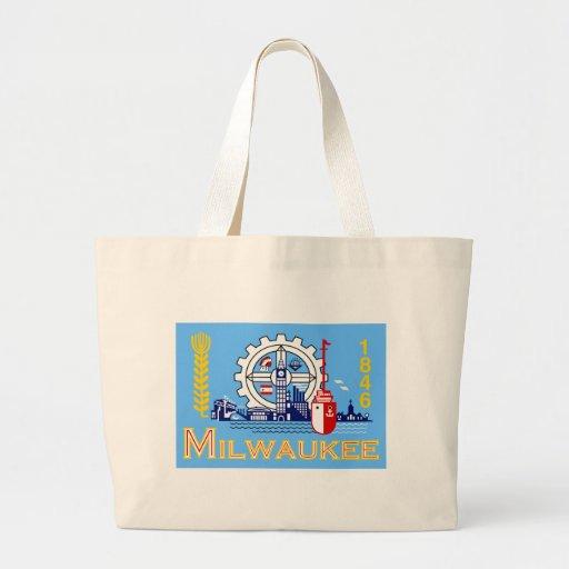 Milwaukee flag bags