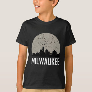 Milwaukee Full Moon Skyline T-Shirt