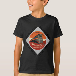 Milwaukee Hiawatha Railroad T-Shirt