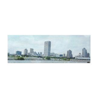 Milwaukee Lakeside Canvas Print
