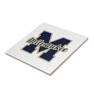 Milwaukee Letter Ceramic Tiles