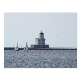Milwaukee Lighthouse Postcard