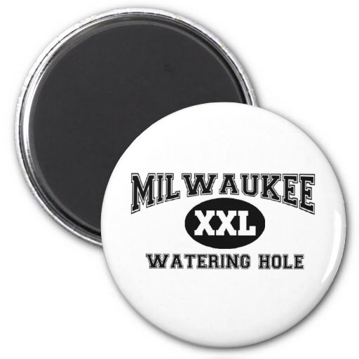 Milwaukee Fridge Magnet