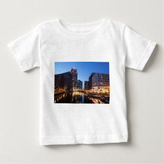 Milwaukee Night Skyline Baby T-Shirt