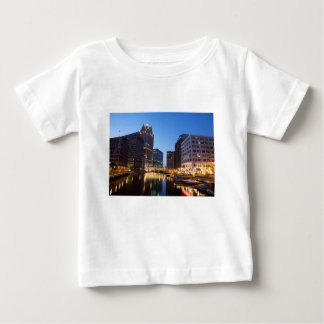 Milwaukee Night Skyline Baby T-Shirt