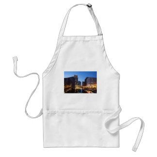 Milwaukee Night Skyline Standard Apron