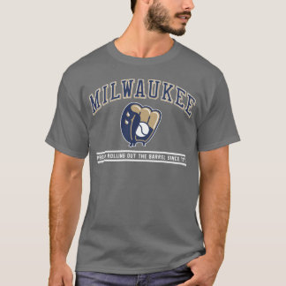 Milwaukee - Proudly Rolling (for Dark Backgrounds) T-Shirt