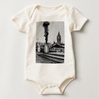 Milwaukee Railroad Milwaukee Station Baby Bodysuit