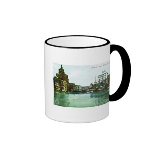Milwaukee River, Milwaukee, Wisconsin Coffee Mug