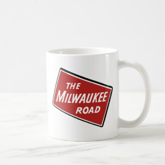Milwaukee Road Railway Sign 2 Coffee Mug