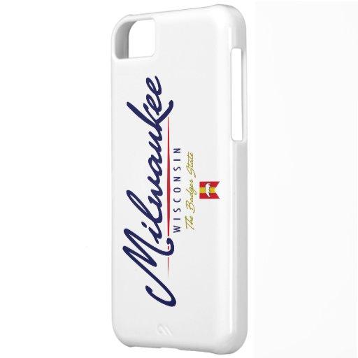 Milwaukee Script iPhone 5C Covers