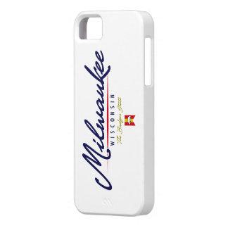 Milwaukee Script iPhone 5 Cover