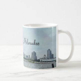 Milwaukee shoreline classic white coffee mug