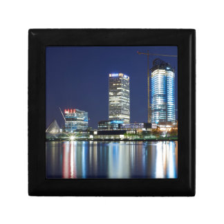 Milwaukee Skyline at Night Gift Box