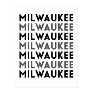 Milwaukee Tile Design Postcard