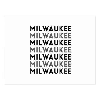 Milwaukee Tile Design Postcard