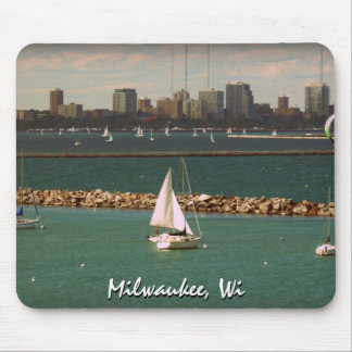 Milwaukee, WI Skyline Mouse Pads