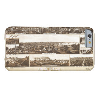 Milwaukee, Wisconsin by Beck & Pauli (1882) Barely There iPhone 6 Case