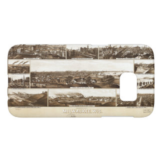 Milwaukee, Wisconsin by Beck & Pauli (1882) Samsung Galaxy S7 Case