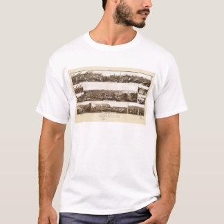 Milwaukee, Wisconsin by Beck & Pauli (1882) T-Shirt
