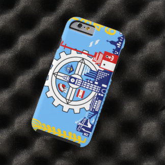 Milwaukee Wisconsin Tough iPhone 6 Case