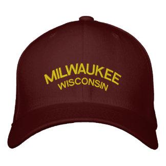 Milwaukee Wisconsin Custom Baseball Cap
