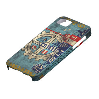 Milwaukee Wisconsin Grunge iPhone 5 Barely  Case