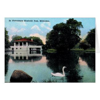 Milwaukee, Wisconsin, Humboldt Park, Vintage Card
