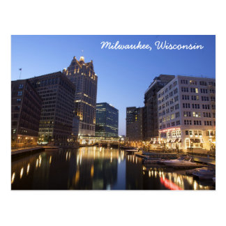 Milwaukee, Wisconsin Postcard
