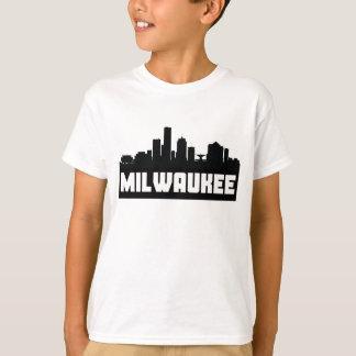 Milwaukee Wisconsin Skyline T-Shirt