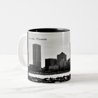 Milwaukee, Wisconsin Two-Tone Coffee Mug