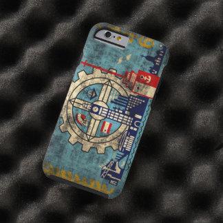 Milwaukee Wisconsin Vintage Grunge Tough iPhone 6 Case