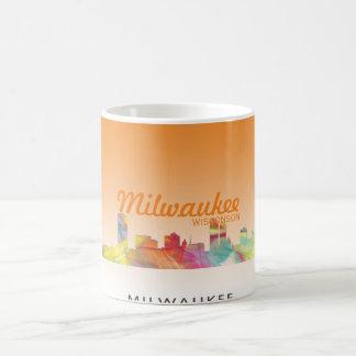 MILWAUKEE, WISCONSON SKYLINE WB1 - COFFEE MUG