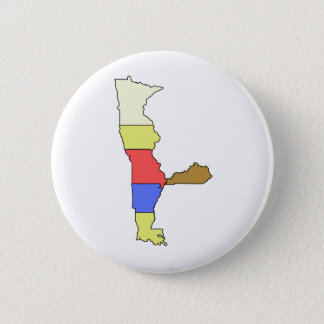 MIMAL the Elf, The Five State Chef 2 Inch Round Button
