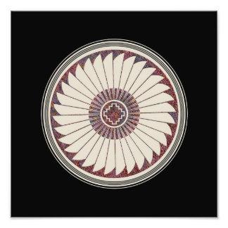 Mimbres Pottery Design Photographic Print