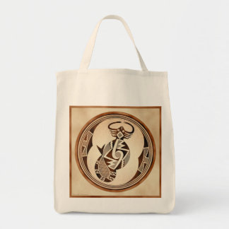 Mimbres Scorpion-Snake-Fish Tote Bag