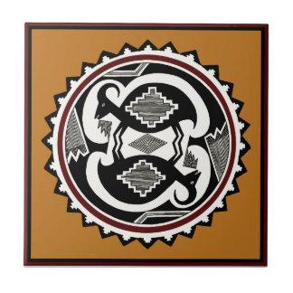 Mimbres Tribal Spirits Tile