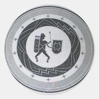 Mimbres Warrior sticker