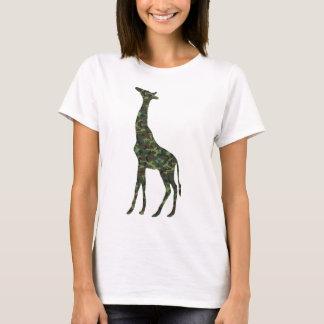 mimetic military giraffe T-Shirt