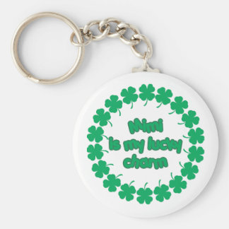 Mimi is My Lucky Charm Keychain
