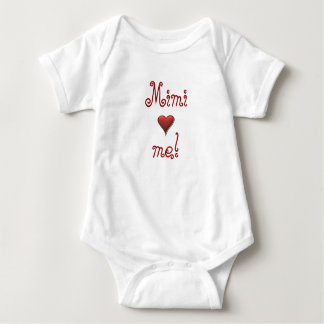 Mimi Loves Me Baby Bodysuit