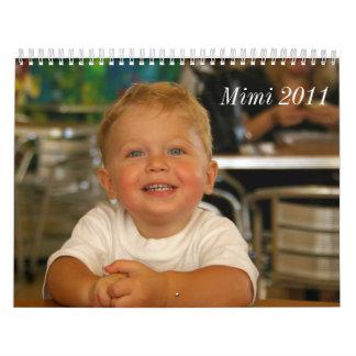 mimi marilyn calendar