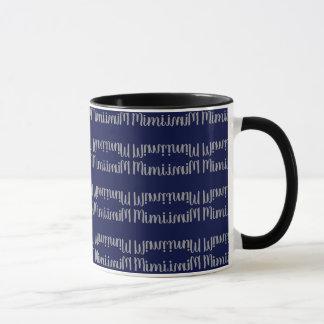 """Mimi"" Personalized Coffee Mug"