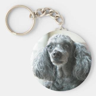 mimi poodle keychain