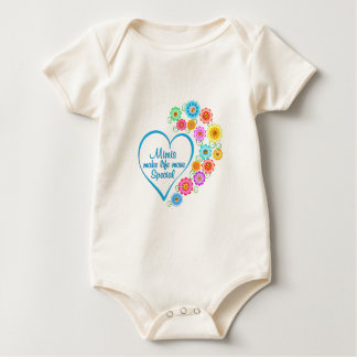 Mimi Special Heart Baby Bodysuit
