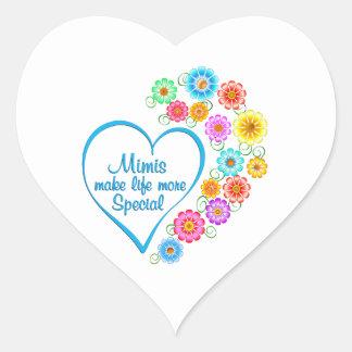 Mimi Special Heart Heart Sticker